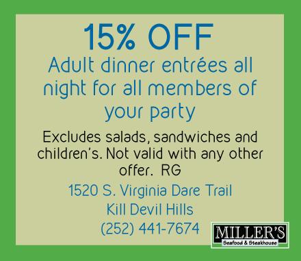 Coupons for Kill Devil Hills Restaurants