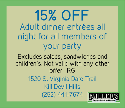 Coupons for Kill Devil Hills Restaurants